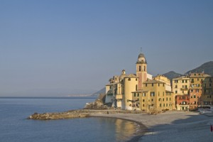 Camogli in Ligurien